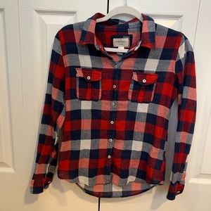 Forever21 Cotton Flannel Size Small